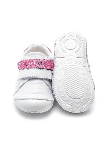 First Step Sim Parçalı Hakiki Deri Ortopedik İlk Adım Ayakkabısı  D-459 Renkli